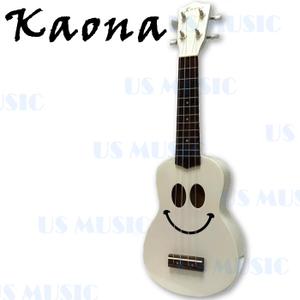 Kaona 21吋高音烏克麗麗+愛樂烏克(KUK-21(白))