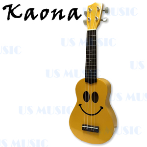 Kaona 21吋高音烏克麗麗+愛樂烏克(KUK-21(黃))