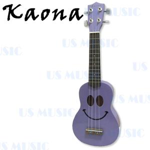 Kaona 21吋高音烏克麗麗+愛樂烏克(KUK-21(紫))