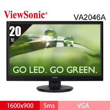 【20型】ViewSonic VA2046A LED(VA2046A-LED)