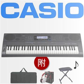 CASIO 61鍵電子琴+琴袋.椅.耳機(CTK-6200)