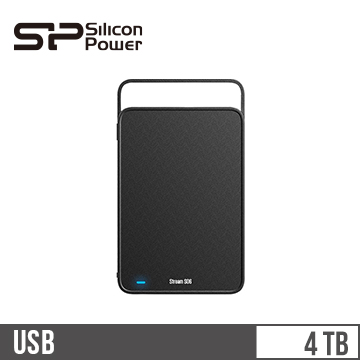 "【4TB】Silicon Power S06 3.5"" 外接硬碟"