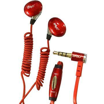 BSD SP-945入耳式耳機-紅(SP-945-R)