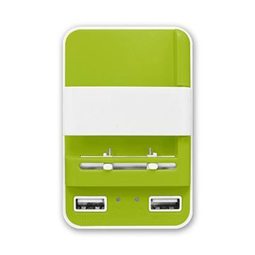 Power Star智能USB快速充電器-綠(H222綠)