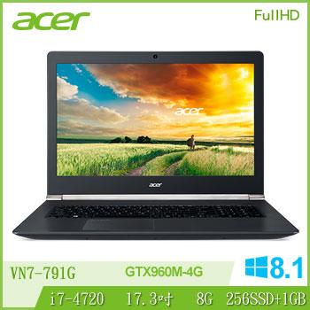 ACER VN7-791G Ci7 GTX960 電競獨顯筆電(VN7-791G-78RF(3D))