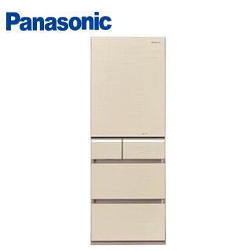 Panasonic 430公升頂級ECONAVI五門變頻冰箱(NR-E430VG-N1(翡翠金))