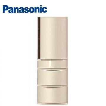 【節能補助】Panasonic 430公升旗艦ECONAVI五門變頻冰箱(NR-E430VT-N1(香檳金))