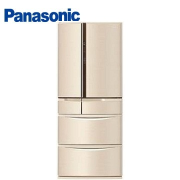 Panasonic 608公升旗艦ECONAVI六門變頻冰箱(NR-F610VT-N1(香檳金))
