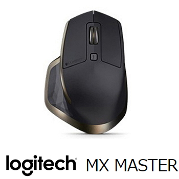 羅技 Logitech MX Master 藍芽無線滑鼠 - 質感黑