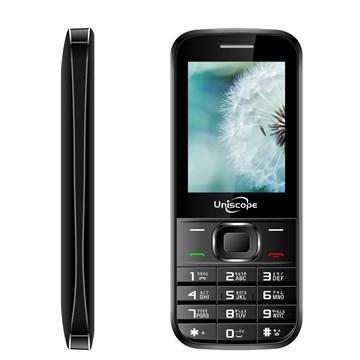 優思 W108 3G手機-黑(W108-B)