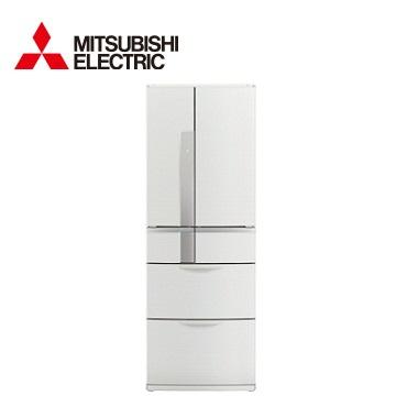 【福利品 】MITSUBISHI 525公升瞬冷凍節能六門冰箱(絹絲白)