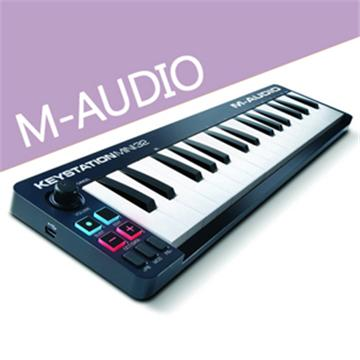 M-AUDIO 32鍵USB主控鍵盤(Keystation Mini 32)