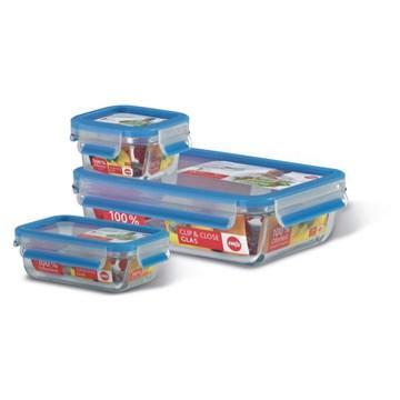 【福利品】德国EMSA玻璃保鲜盒  3件组(514169)