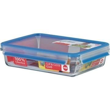 【福利品】德国EMSA 玻璃保鲜盒2L(513921)