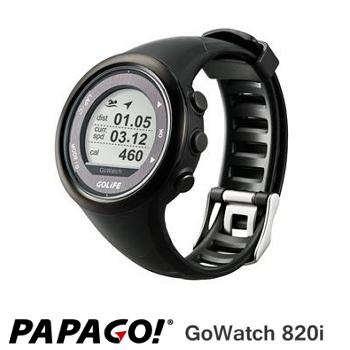 PAPAGO GoWatch820i 藍牙中文三鐵運動錶-黑(GoWatch820i-黑)