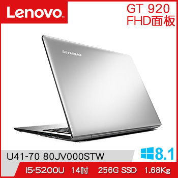 LENOVO IdeaPad 5代i5 2G獨顯筆電(U41-70 80JV000QTW)