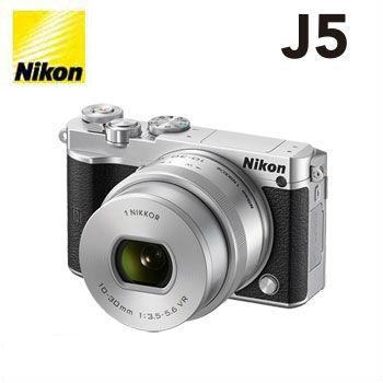 【展示機】Nikon 1 J5微單眼相機KIT-銀(j5kitSL)