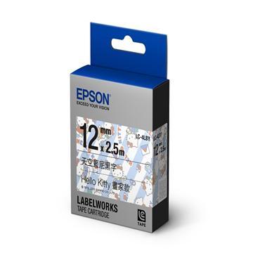【畫家款】EPSON LC-4LBY Hello Kitty 標籤帶