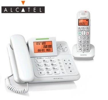 Alcatel DECT數位答錄無線親子機(XL300)