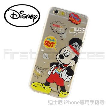 Disney iPhone6 保護軟套-米奇Smart Guy(iPhone6適用)
