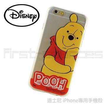 【iPhone 6】Disney 保護軟套-托腮幫子維尼(iPhone6適用)