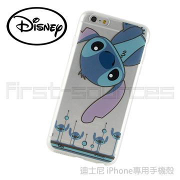 Disney iPhone6 Plus 保護軟套-倒立史迪奇(iPhone6 Plus適用)