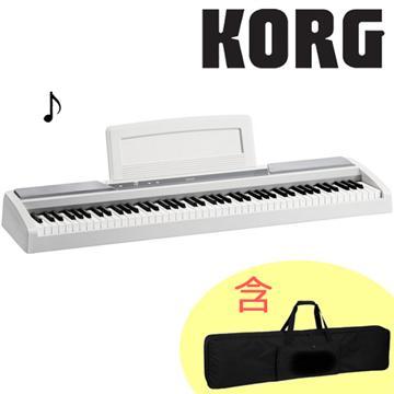 KORG 88鍵電鋼琴+琴袋(SP-170S(白))