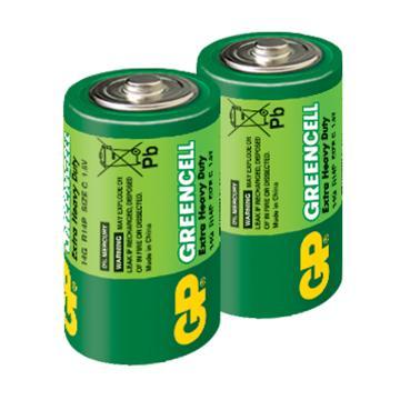 GP超霸2號特級碳鋅電池2入(C2)