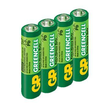 GP超霸3號特級碳鋅電池4入(AA4)