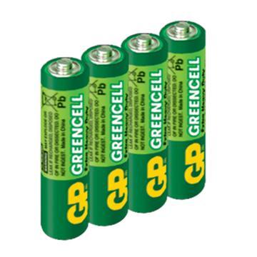 GP超霸4號特級碳鋅電池4入(AAA4)