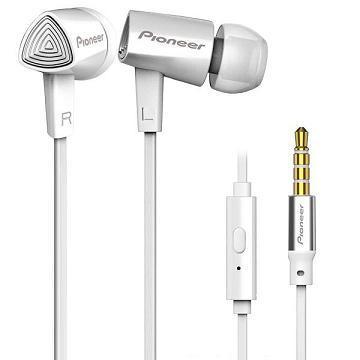Pioneer SE-CL31S耳道式耳機-白(SE-CL31S-W)