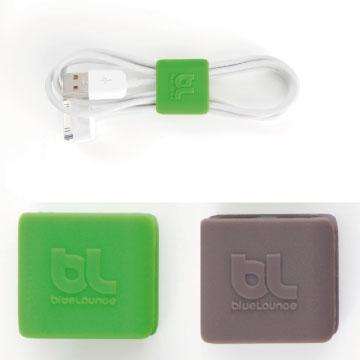 Bluelounge 小型整線夾-綠/深灰(BL-CW-CLIP-01)