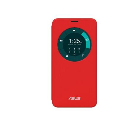 Asus ZenFone 2 5.5吋系列透視皮套-紅(ZE550ML皮套-紅)