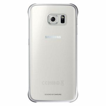 SAMSUNG S6 Edge 原廠輕薄防護背蓋-銀