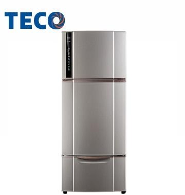 東元 543公升節能變頻三門冰箱(晶鑽灰)(R5551VXLH)