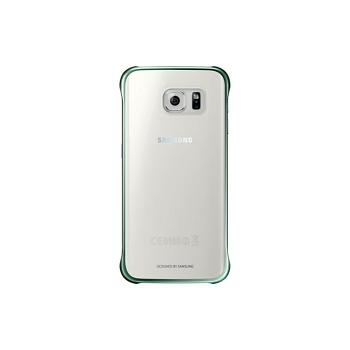 SAMSUNG S6 Edge 原廠輕薄防護背蓋-綠(EF-QG925BGEGWW-綠)