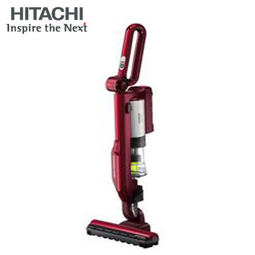 HITACHI 日本原裝無線鋰電吸塵器(PVSJ500TR 炫麗紅)