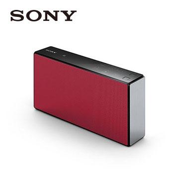 【福利品】 SONY NFC/藍牙揚聲器(SRS-X55/RC(紅))