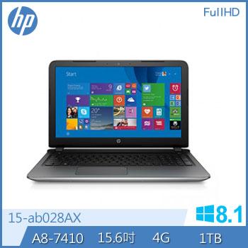 HP 15-ab028AX A8 R7 M360 筆記型電腦(15-ab028AX)