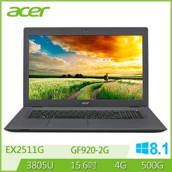 ACER EX2511G 3805U NV920 獨顯商用筆電(EX2511G-P9RM)