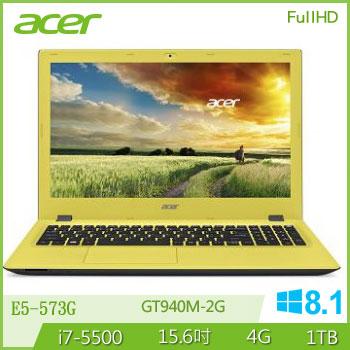 ACER E5-573G Ci7 NV940 獨顯筆電(E5-573G-74WZ 黃)