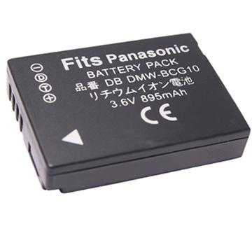 Kamera for Panasonic BCG10 鋰電池(BCG10 鋰電池)