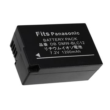 Kamera for Panasonic DMW-BLC12 鋰電池(BLC12 鋰電池)