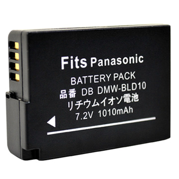 Kamera for Panasonic DMW-BLD10 鋰電池(BLD10 鋰電池)