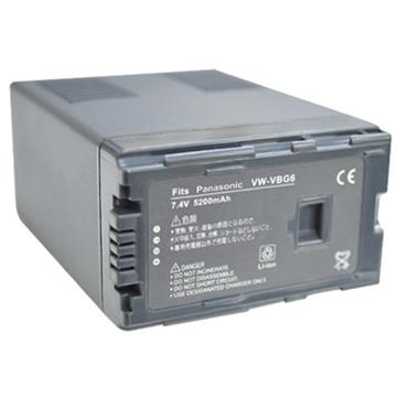 Kamera for Panasonic VW-VBG6 鋰電池(VBG6 鋰電池)