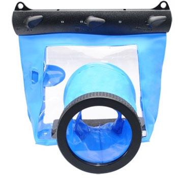 Kamera GQ-518L 相機防水袋(鏡頭10cm)-藍(GQ-518L)