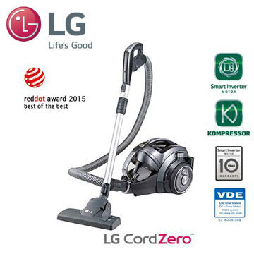 LG 無線系列 圓筒式吸塵器(VR94070NCAQ)   快3網路商城~燦坤實體守護