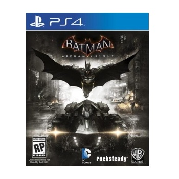 PS4- 蝙蝠俠:阿卡漢騎士 (英文版)(PAX0006972686)