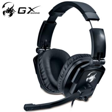 Genius 電競專用全罩式耳機麥克風(HS-G550 石紋蠍)