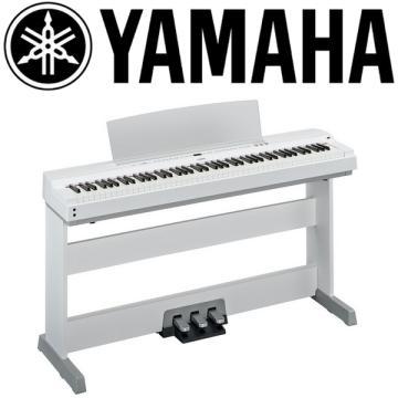 YAMAHA 數位鋼琴(P-255WH)